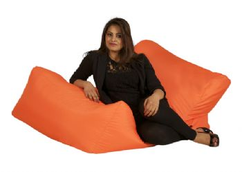 Bonkers Lounger Bean Chair in Vibrant Security Fabric